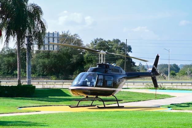 Hubschrauber für sightseeing-flug