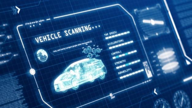 Hud fahren auto geschwindigkeit benutzeroberfläche computerbildschirm anzeige mit pixel hintergrund