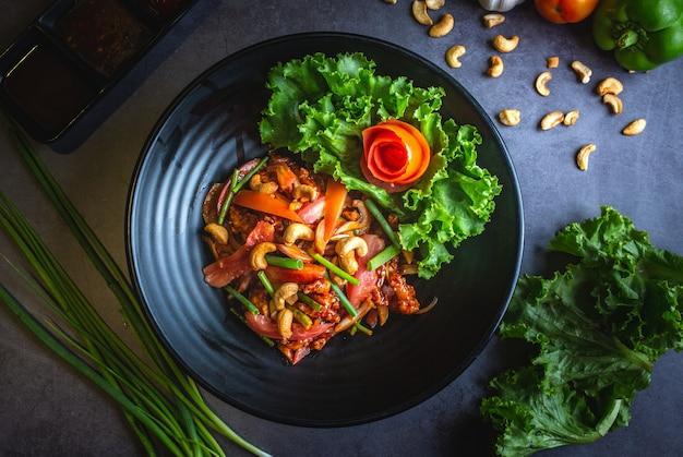 Hühnchen-cashewnuss-salat