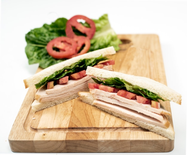 Hühnchen scheiben sandwich