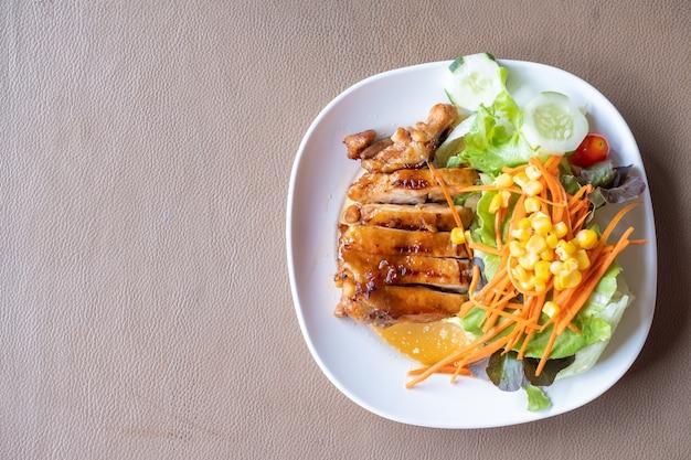 Hühnchensteak mit teriyaki-sauce