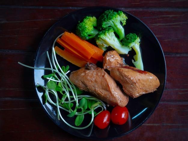 Hühnerbrust sauberes essen für eine gute gesundheit