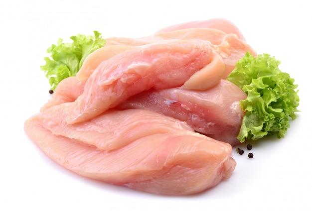 Hühnerfleisch isoliert