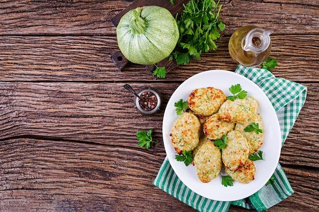 Hühnerschnitzel mit zucchini