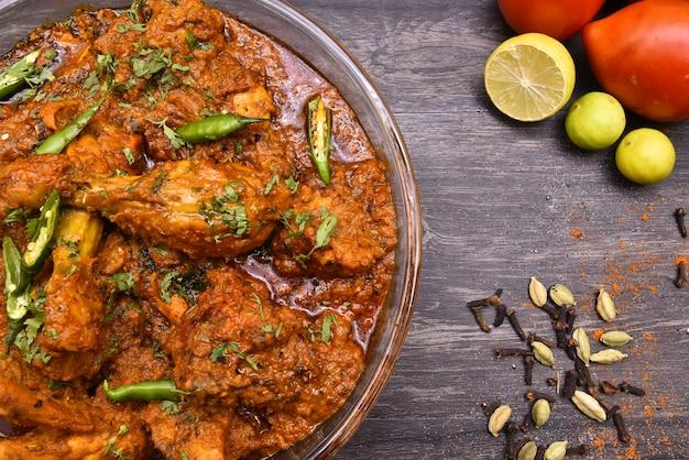 Huhn-curry-nahrungsmittelphotographie