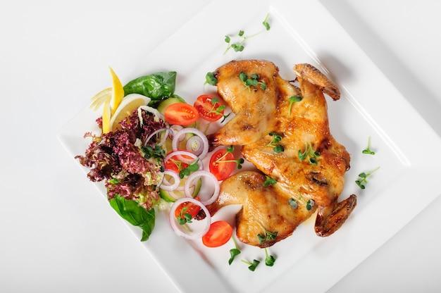 Huhn tabaka, kaukasische küche