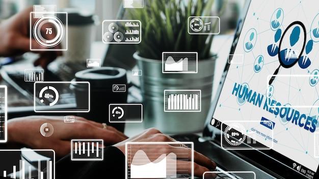 Human resources und people networking konzeptionell