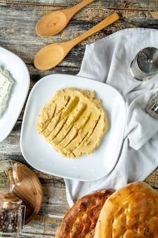 Hummus draufsicht
