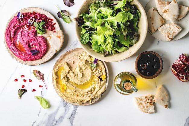 Hummus verbreitet sorte