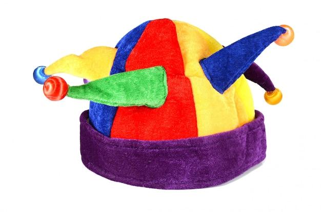 Hut für einen spaßvogel und einen clown