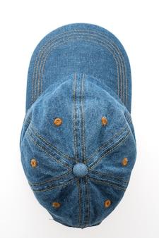 Hut, mütze, blau sport leinwand