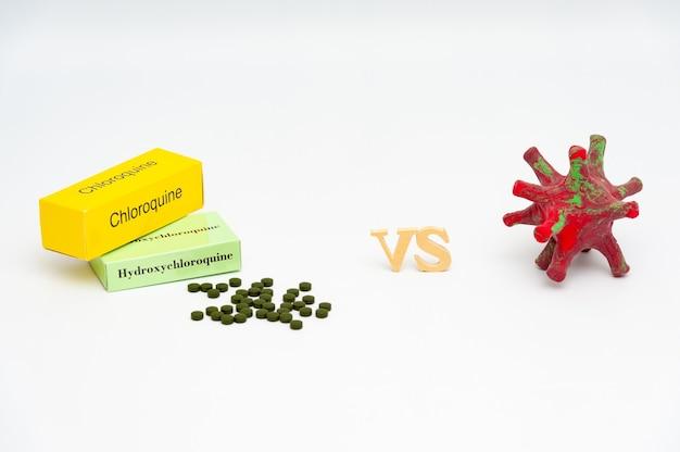 Hydroxychloroquin und chloroquin im vergleich zu coronavirus