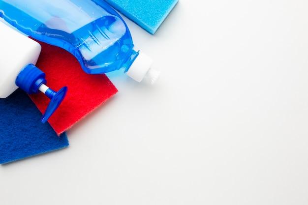 Hygieneprodukte in nahaufnahme