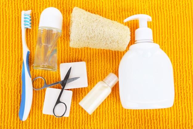 Hygienische geräte, auf farbe