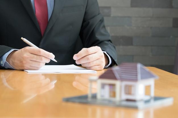Hypothek nach hause