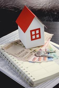 Hypotheken-, investitions-, immobilien- und immobilienkonzept