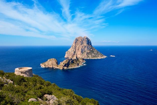 Ibiza es vedra blick vom torre des savinar tower