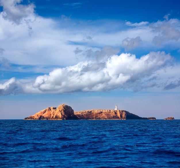 Ibiza islas bledas beldes inseln mit leuchtturm