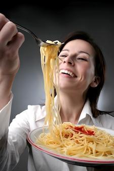 Ich esse gerne pasta