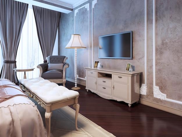 Idee der einrichtung luxus schlafzimmer