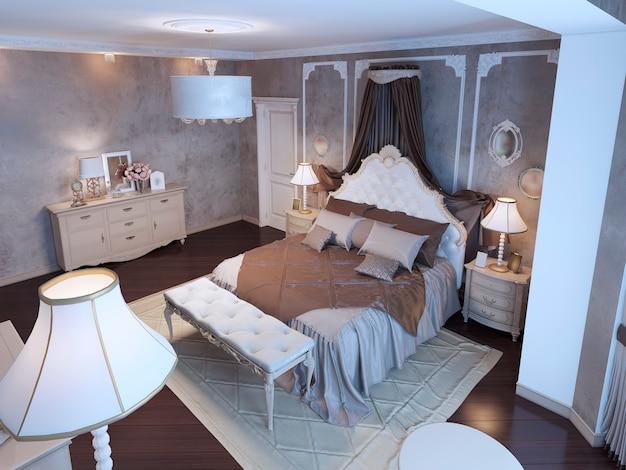 Idee des böhmischen hauptschlafzimmers