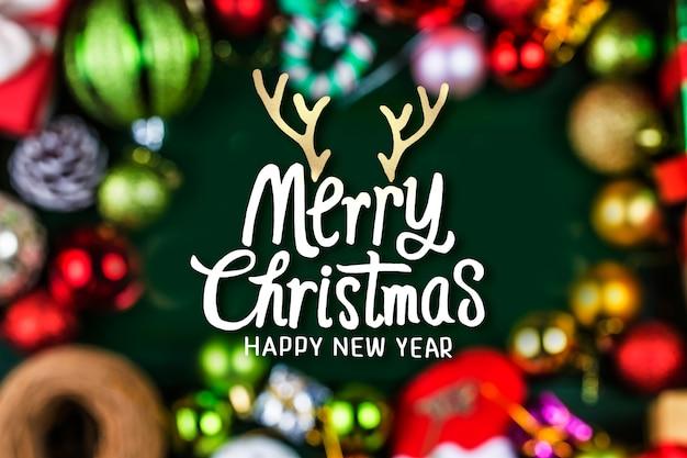Idee des guten rutsch ins neue jahr-feiertags 2020 frohen weihnachten
