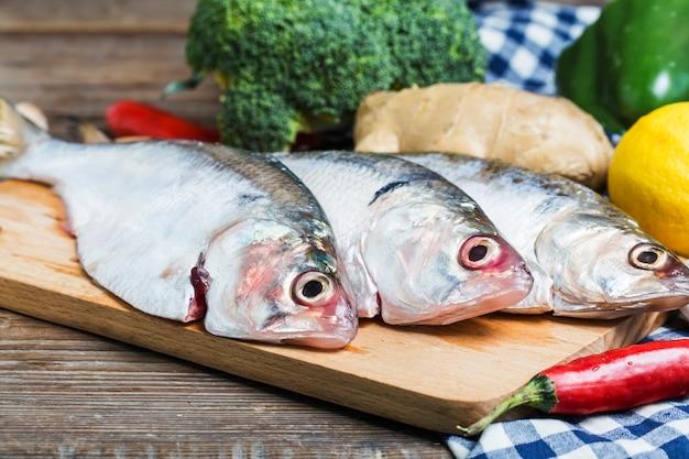 Ilish fisch von südostasien