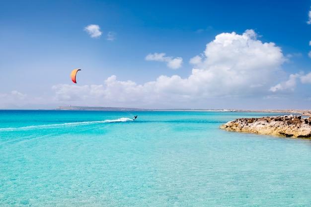Illetas formentera illetes strand-türkis-paradies