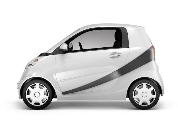 Illustrations-konzept des auto-fahrzeug-transport-3d