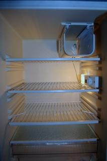 Im inneren des kühlschranks
