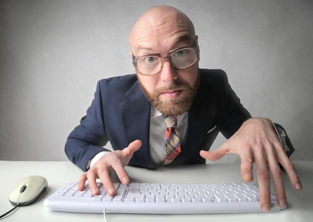Im internet surfen