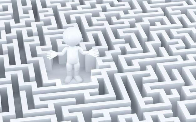 Im labyrinth verloren