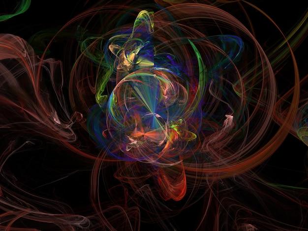 Imaginatorisches fraktales hintergrundbild