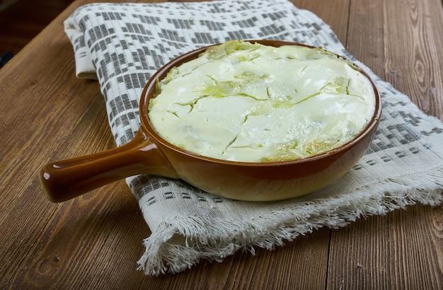 Imellytetty perunalaatikko - finnischer kartoffelauflauf hautnah