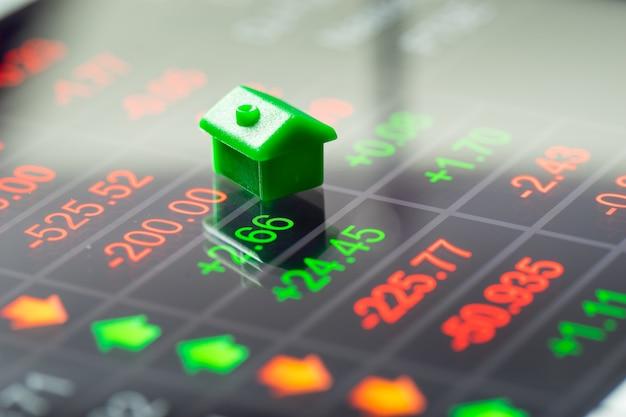 Immobilien-, haus- & immobilienmarkt