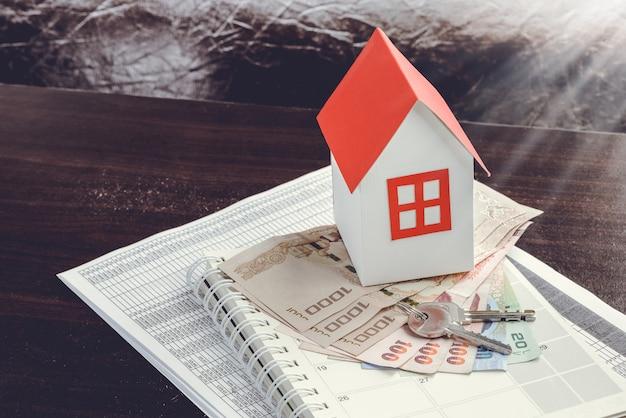 Immobilien- und immobilienkonzept