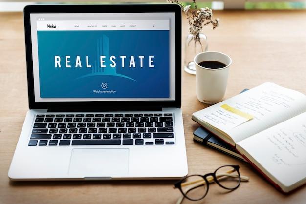 Immobilien unterkunft immobilieninvestition grafik word