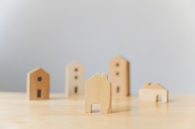 Immobilienentwickler und verwaltendes immobilieninvestitionskonzept