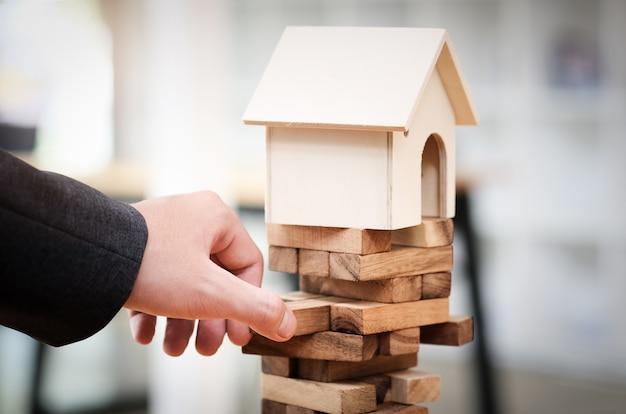 Immobilienplanung und vermeidung von finanzinvestitionsrisiken