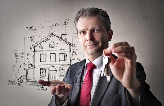 Immobilienverkauf und gelegenheit