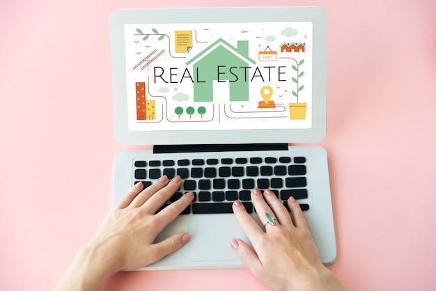 Immobilienvermittlungskonzept