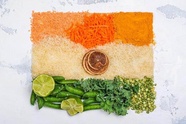 Indien unabhängigkeitstag konzept
