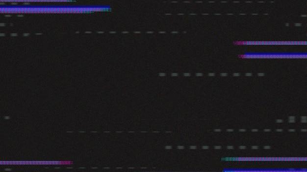 Indigo glitch effekt textur
