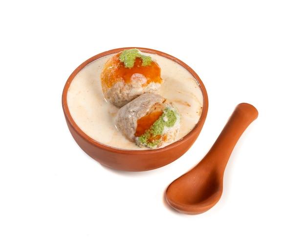 Indische berühmte küche dahi vada