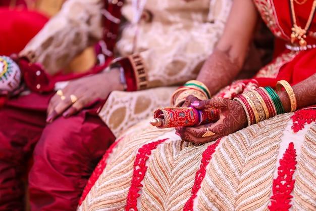 Indische hochzeitszeremonie