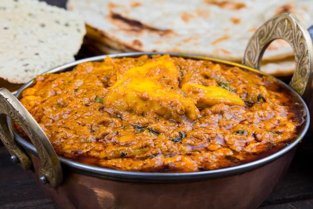 Indische küche kadai paneer food