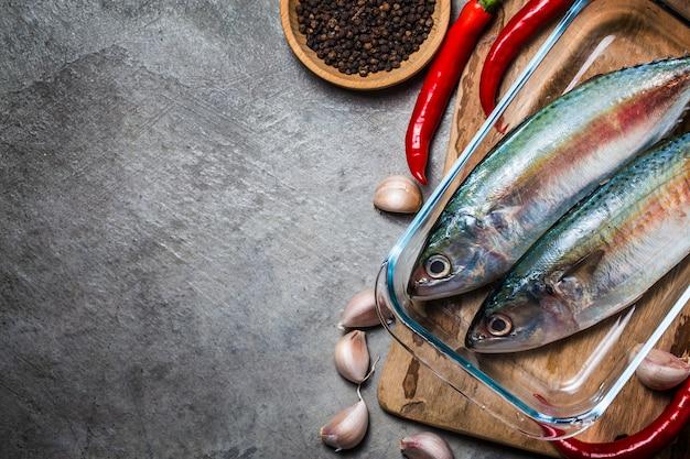 Indische makrele rastrelliger kanagurta