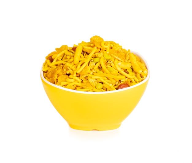 Indische süße und salzige mischung namkeen food
