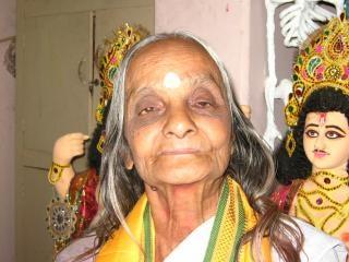 Indischen spirituellen mutter