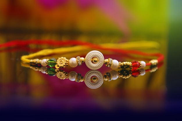 Indischer festival rakshabandhan, rakhi